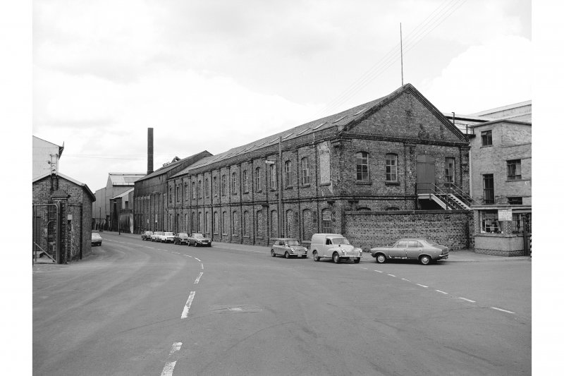 Hallside Steelworks View showing pattern-shop/joiners' shop
