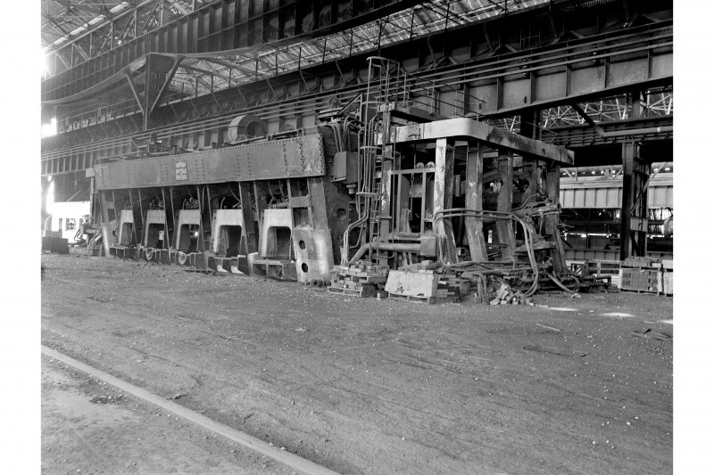 Glasgow, Clydebridge Steel Works, Interior View showing 300 ton tilting furnace S