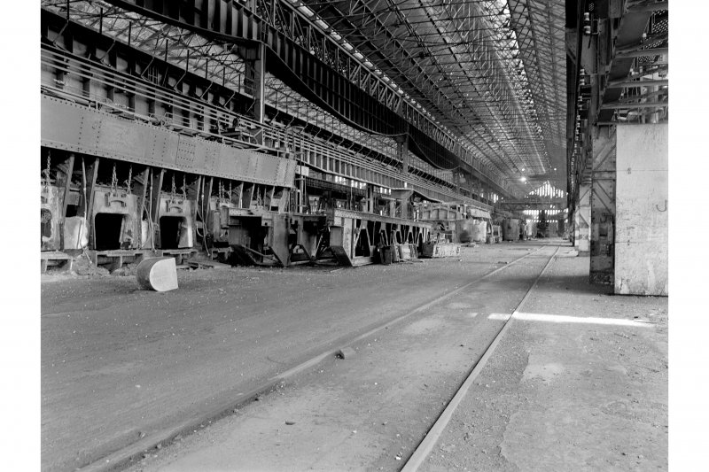 Glasgow, Clydebridge Steel Works, Interior View showing 300 ton tilting furnace T