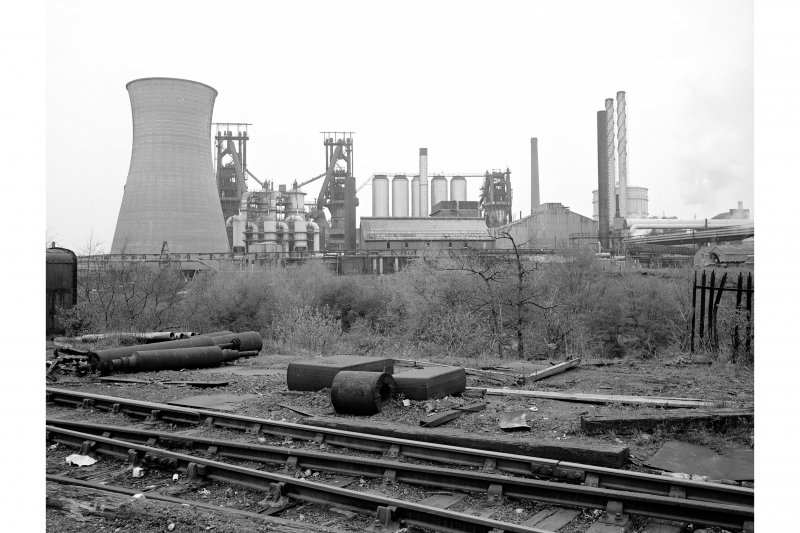 Glasgow, Clyde Iron Works View from SW