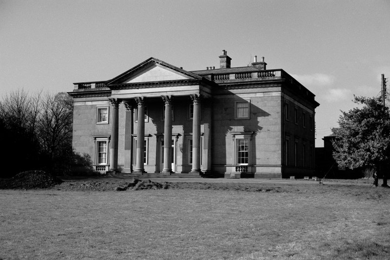 Duddingston House View from North East of entrance front