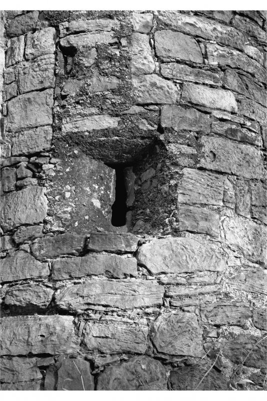 Cramond Tower Details of staircase turret