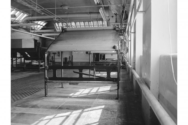 Dundee, Princes Street, Upper Dens Mills, Interior View showing inspection tables