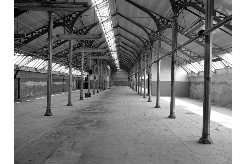Dundee, Princes Street, Upper Dens Mills, Interior View showing attic floor