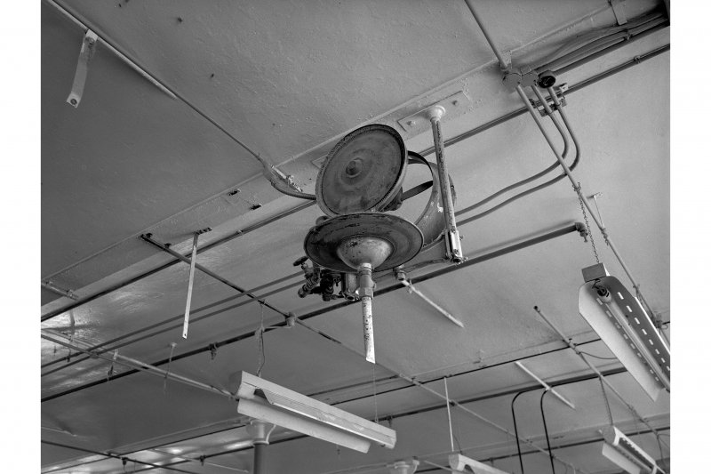 Dundee, Princes Street, Lower Dens Mills, Interior View showing humidifier