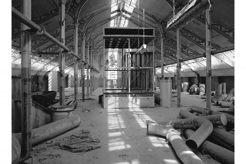 Dundee, Princes Street, Lower Dens Mills, Interior View showing attic floor
