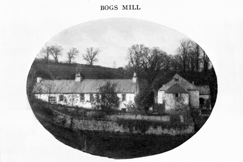 Edinburgh, Colinton, Bogs Mill General view Copied from 'Colinton Old and New'