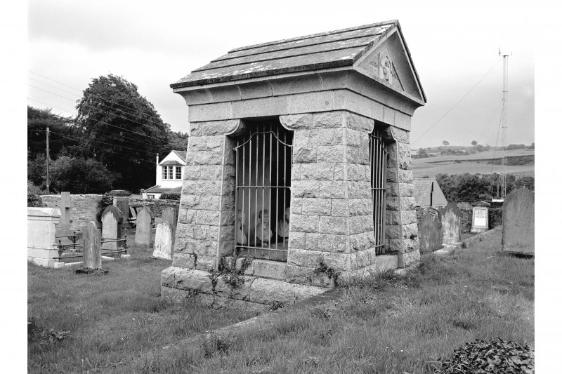 Tongland Abbey, Neilson Mausoleum General View