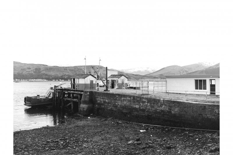 Kilmun, Pier View from ENE showing SE front