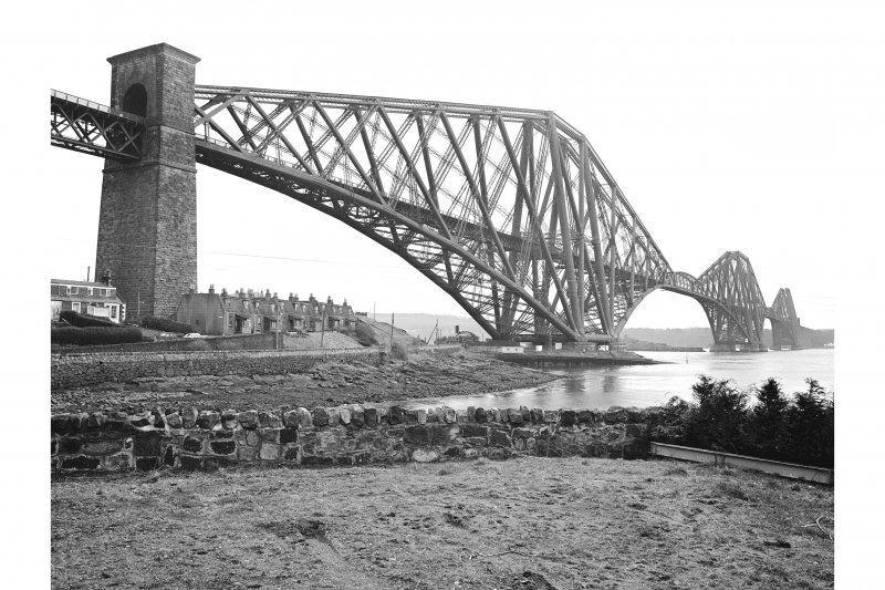 Forth Bridge View from NW showing WSW front