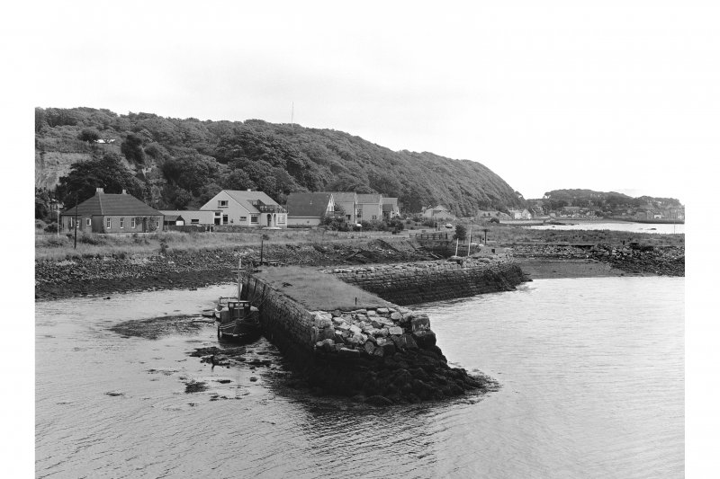 Charlestown Harbour View of quay