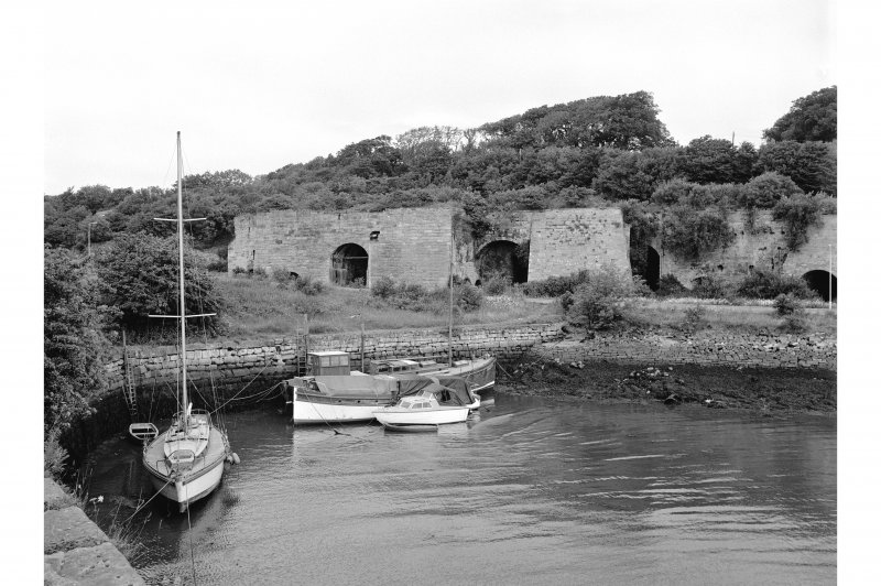 Charlestown, Limekilns and Harbour General View
