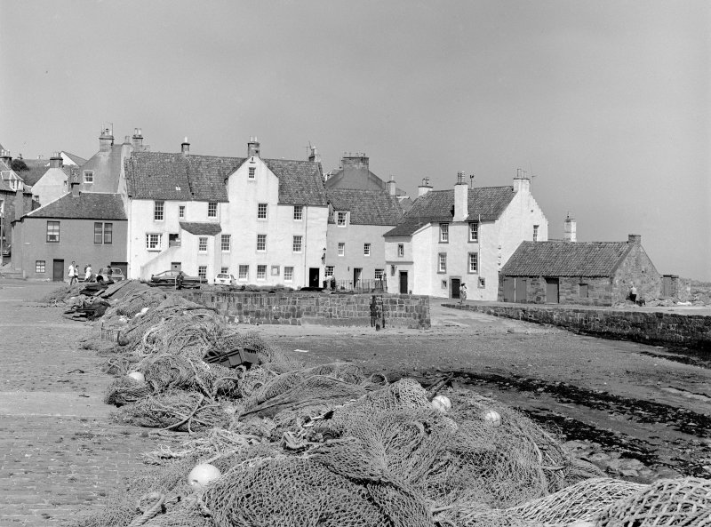 Pittenweem, Gyles House View of Gyles House and 'The Gyles'