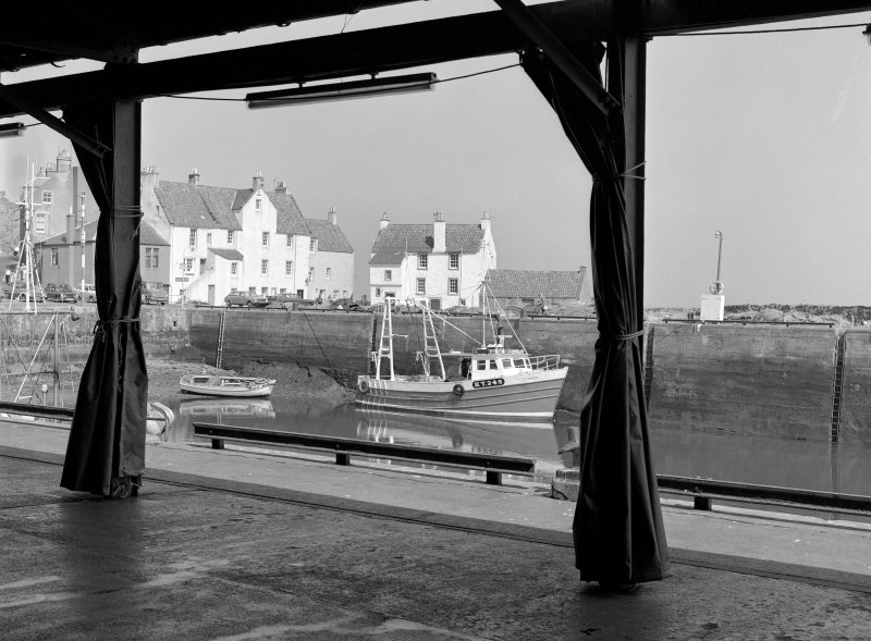 Pittenweem, Gyles House View from fish market