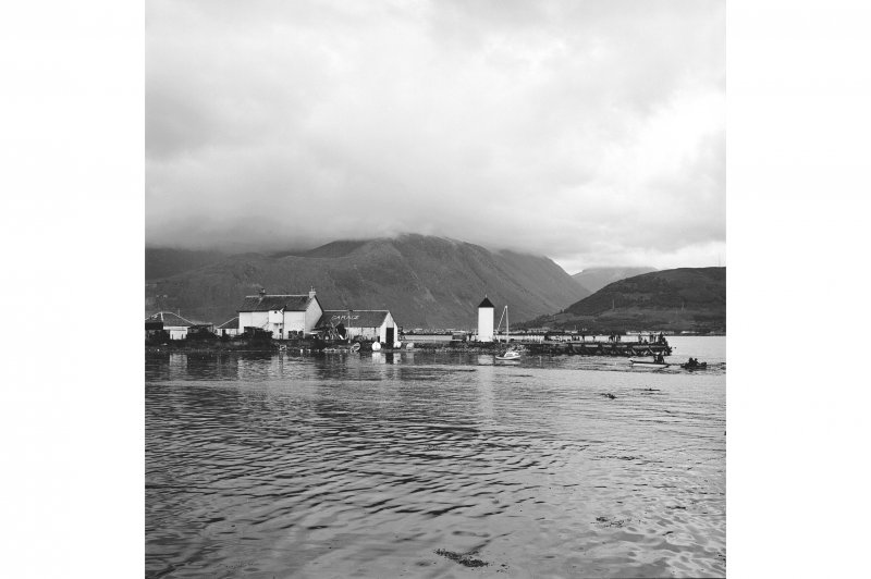 Corpach, Caledonian Canal View of canal entrance and lighthouse