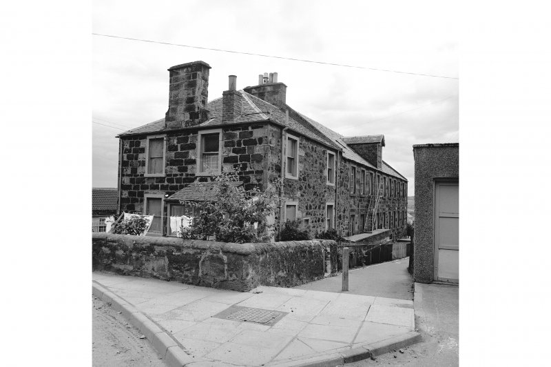 View of dwelling house in N end of building.
