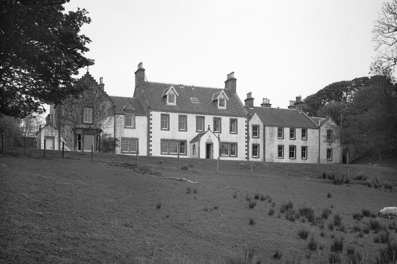 Ardpatrick House. View from South East.
