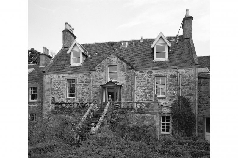 Ardpatrick House. View of garden front from West.
