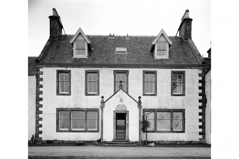 Ardpatrick House. View of central block on main front.