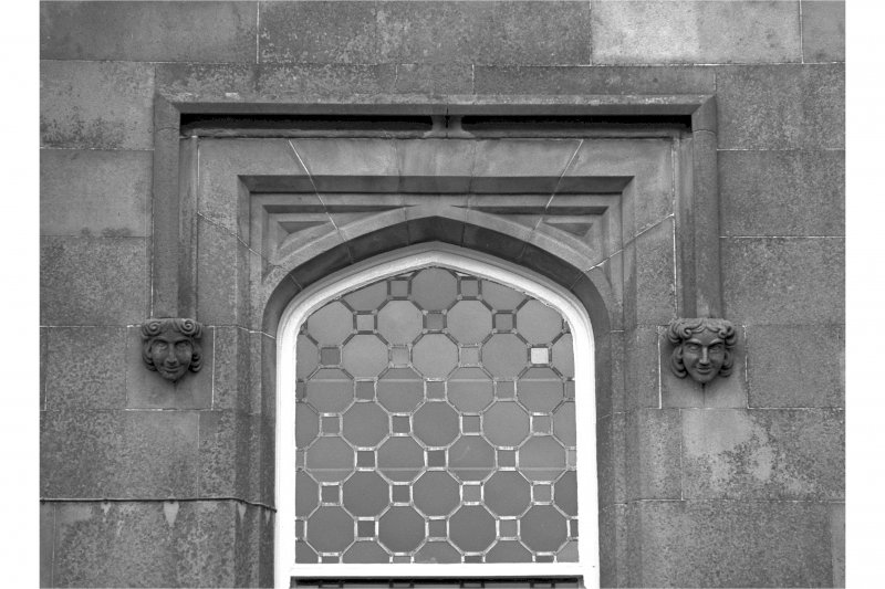 Castle Toward. Detail of South window.