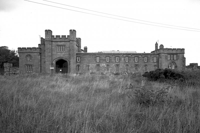 Castle Toward, South Lodge. General view of South lodge from South.