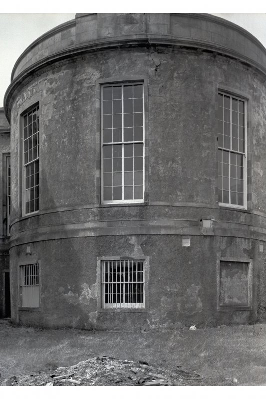 Inveraray, Courthouse. View of rear of building.