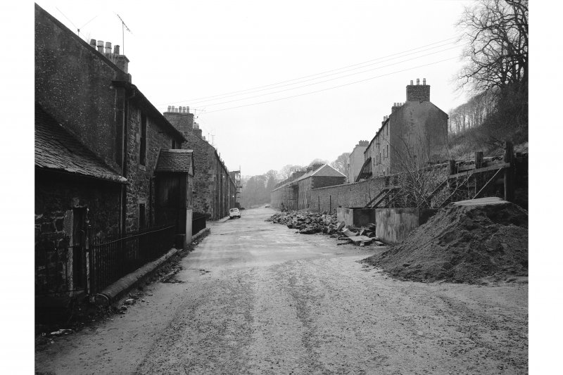 New Lanark, Rosedale Street View along length of street
