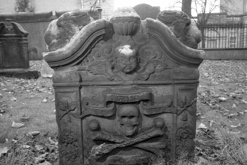 South Leith churchyard. T C and C L, d.1757