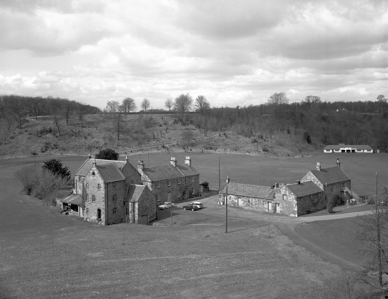 Dalkeith, Iron Mill, general view from S