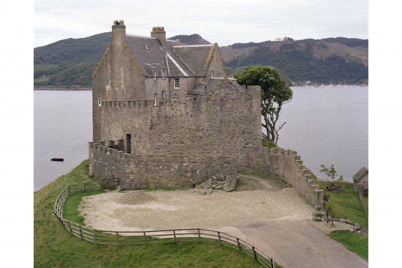 Duntrune Castle. View from North East.