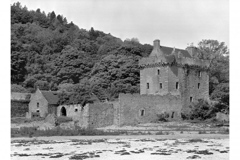 Saddell Castle General view from south-east