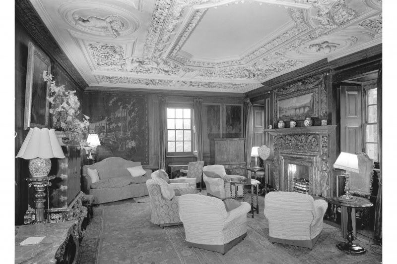 Interior. View of the Tapestry Room looking south east.