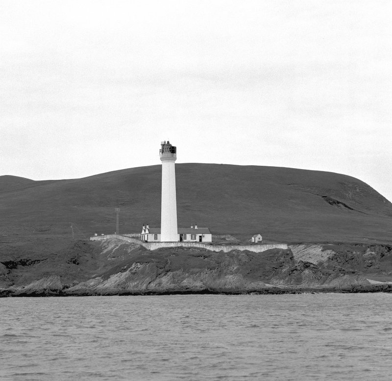 Islay, Rhuvaal Lighthouse, view from E (from the sea)