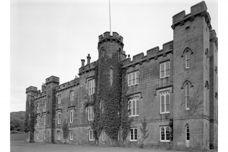 Torrisdale Castle. General view from North-East.