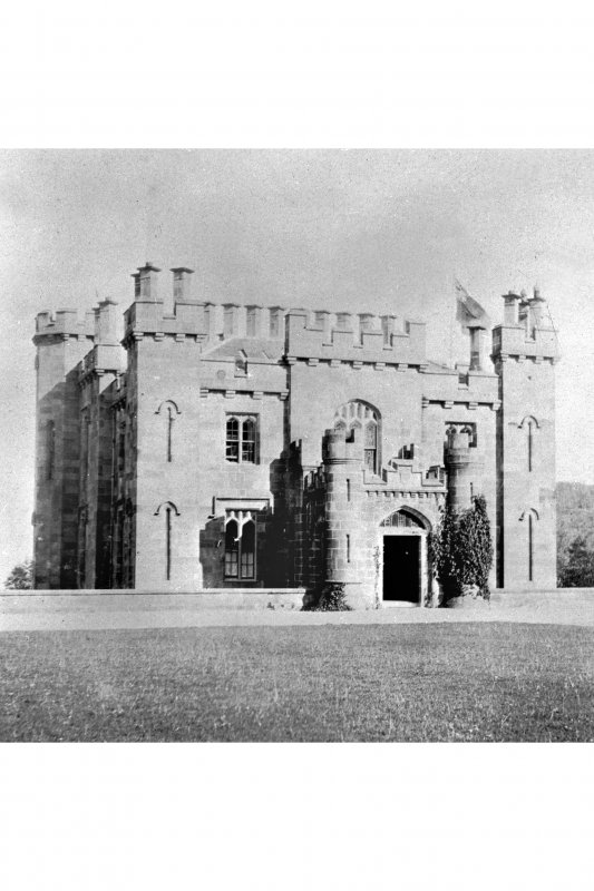 Torrisdale Castle. General view from West.