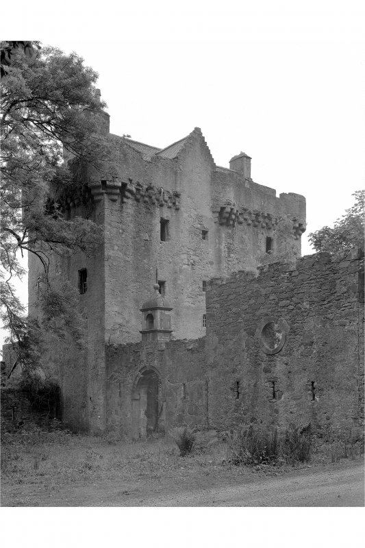 Saddell Castle View from north-west