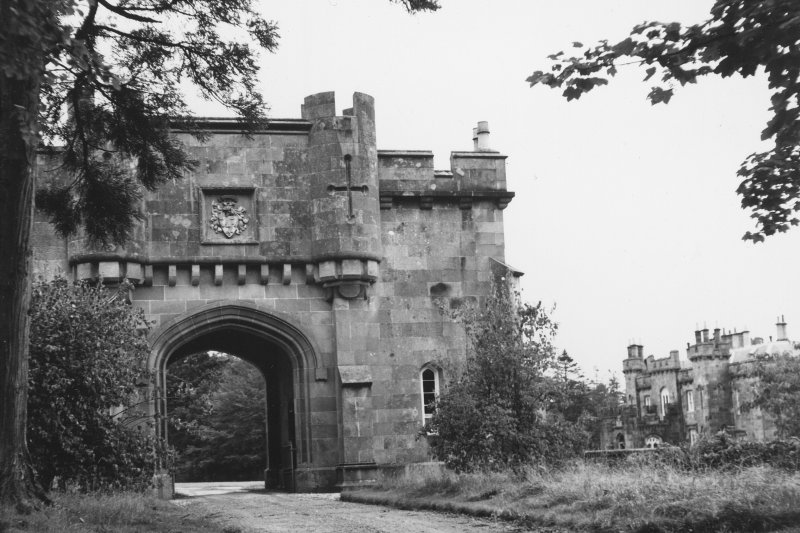 Torrisdale Castle, Gatehouse General view of external elevation