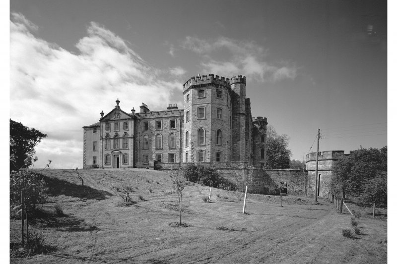 Lochnell House View from north-east
