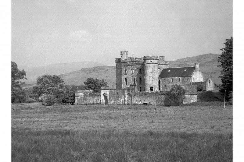 Lochnell House View from west