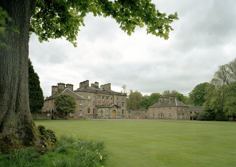 General view of Arniston House, Midlothian, from NE.