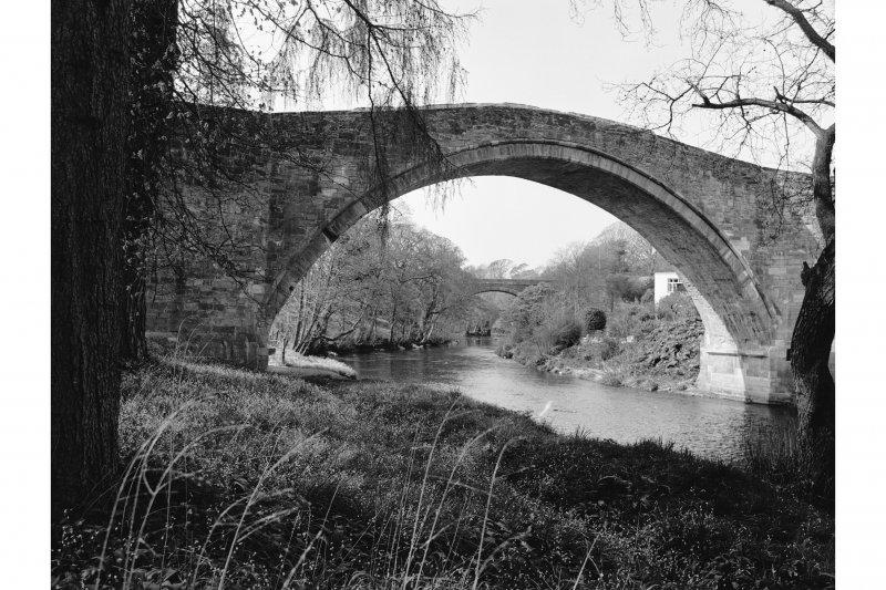 Alloway, Brig o' Doon Detailed view of arch