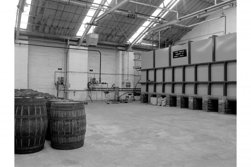 Tomintoul-Glenlivet Distillery, Filling Store; Interior General View
