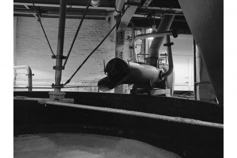Dumbarton Distillery; Interior View of mash tun