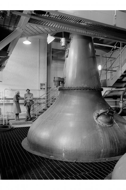 Dumbarton Distillery, Stillhouse; Interior General View
