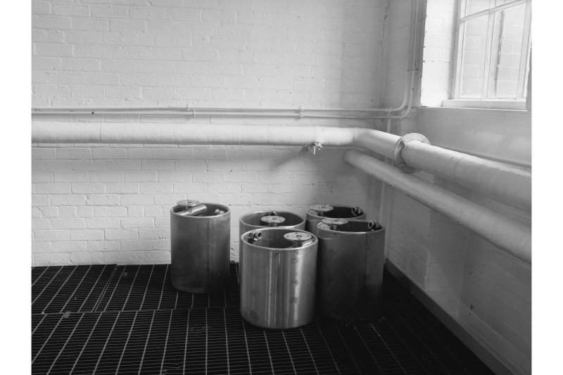 Dumbarton Distillery; Interior View of heating kettles