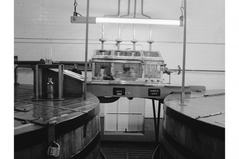 Dumbarton Distillery, Stillhouse; Interior View of spirit safe