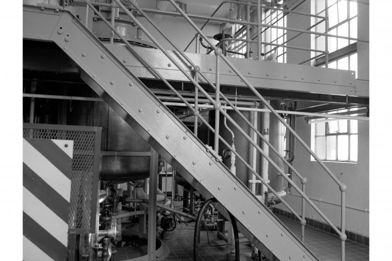 Dumbarton Distillery, Yeast Plant; Interior General View