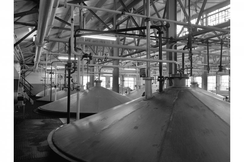Dumbarton Distillery; Interior View of fermenters