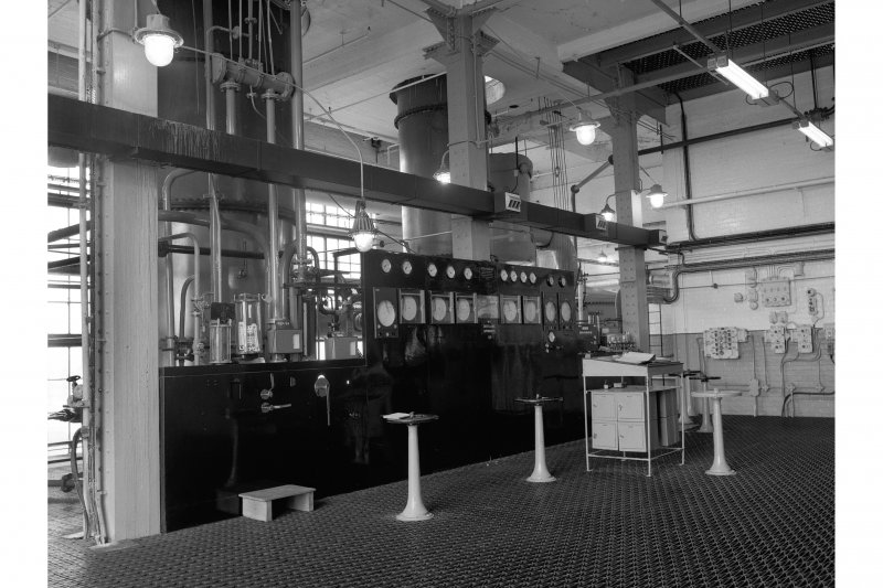 Dumbarton Distillery; Interior View of No. 1 Distilling Apparatus