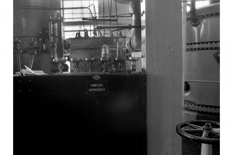 Dumbarton Distillery; Interior View of smapling apparatus for No. 1 Distilling Apparatus
